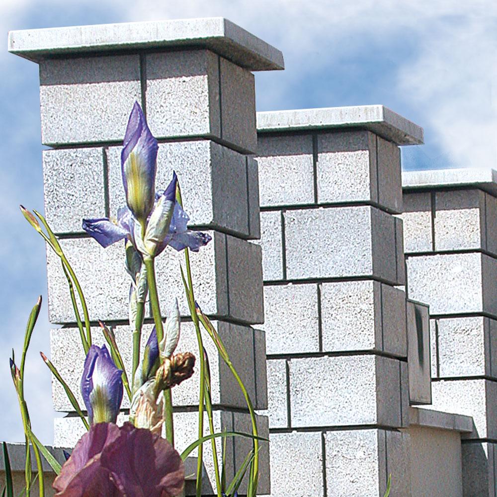 Habiller Un Pilier En Beton sepa alsace | béton, blocs béton | chapeaux de pilier lisses